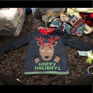 Other - NWT Happy Holidays pajama Set